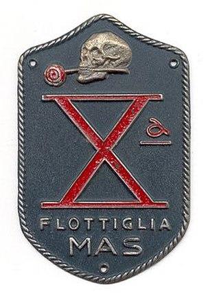 Decima Flottiglia MAS - Image: Logodcima
