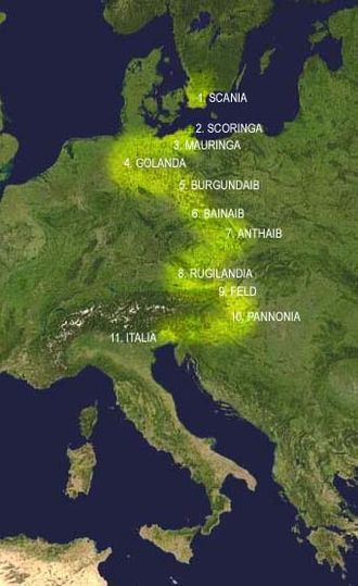 Lombards - Lombard migration from Scandinavia