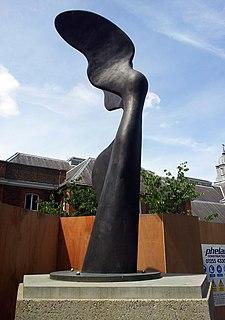 <i>Nike</i> (Kougioumtzis) sculpture in multiple castings by Pavlos Angelos Kougioumtzis