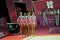 London 2012 Rhythmic Gymnastics - Russia Team 01.jpg