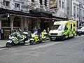 London Ambulance vehicles.jpg