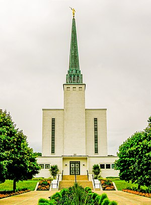 London England Temple - Image: London England Temple 008