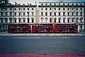 London General buses, Lycée Français Charles de Gaulle, Cromwell Road, London, 27 April 2011.jpg
