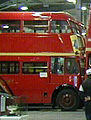 London Transport RT bus, LT Museum Acton depot open weekend, July 2001.jpg