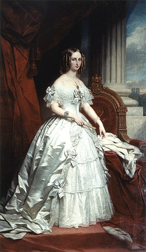 Nicaise de Keyser - Image: Louise Marie d'Orléans de Keyser