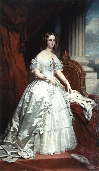 Maria Amalia of Naples and Sicily - Image: Louise Marie d'Orléans de Keyser