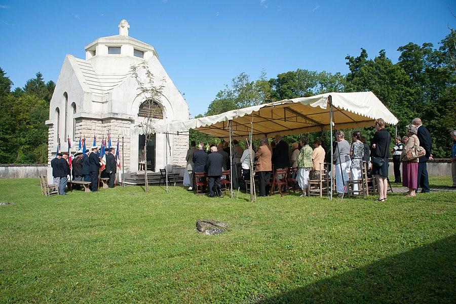 Louvemont-Côte-du-Poivre - cérémonie