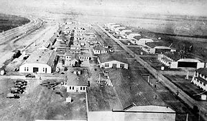 Dallas Love Field - Love Field in 1918 during World War I
