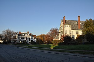 National Register of Historic Places listings in Lowell, Massachusetts - Image: Lowell MA Belvidere Hill HD