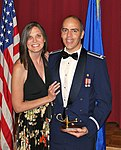 Lt and Mrs. Metzler at the inaugural Lamp Lighter Banquet.jpg