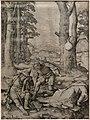 Luca di leida, maometto e il monaco sergio, 1508, bulino (coll. gollini).jpg