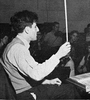 Lukas Foss American composer