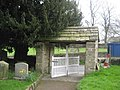 Lych Gate, St. Wilfred's Church, Burnsall - geograph.org.uk - 409390.jpg