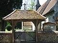 Lych gate - Worting church - geograph.org.uk - 796491.jpg