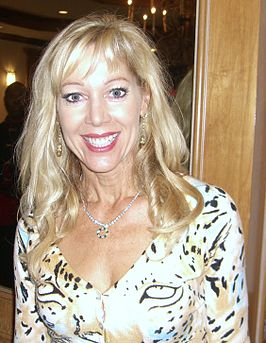 Lynn-Holly Johnson tijdens de 2008 Big Apple Convention in Manhattan.