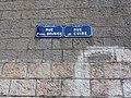 Lyon 4e - Rue de Cuire, plaque.jpg