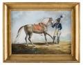 Måleri. Hästporträtt - Skoklosters slott - 87335.tif