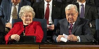 M. Russell Ballard - Ballard with his wife, Barbara, in 2017