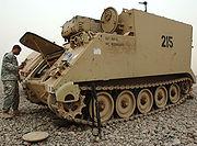 M577 command vehicle