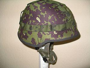 SPECTRA helmet - Danish helmet with the standard helmet cover