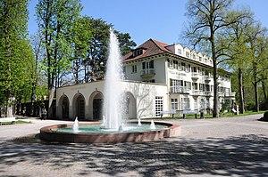 Bad Mergentheim, Kurpark, Haus des Kurgastes