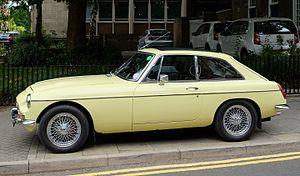 MG MGB - 1968 MG C GT
