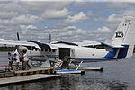 MINISTRO VALAKIVI ENTREGÓ MODERNA FLOTA DE 12 AERONAVES CANADIENSES TWIN OTTER DHC-6 SERIE 400 A LA FUERZA AÉREA DEL PERÚ (18969790203).jpg