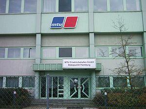 MTU Friedrichshafen, Hamburg, Germany.