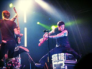 Pop punk - Pop punk band MxPx performing in 2008