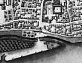 Maastricht, omgeving OLV-poort, detail kaart Larcher d'Aubencourt, 1749.jpg