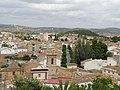 Macastre. Iglesia de la Transfiguración del Salvador. Desde el Castillo.jpg