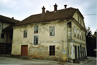 Gradac, Metlika - Image: Maceletova hiša