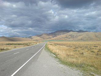 Mackenzie Basin - The Mackenzie Country's typical autumn colouration