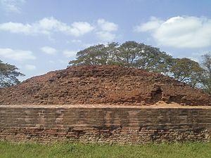 Bhattiprolu - Buddhist Maha Stupa at Bhattiprolu
