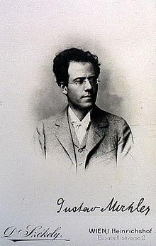 Gustav Mahler (1898) (Quelle: Wikimedia)