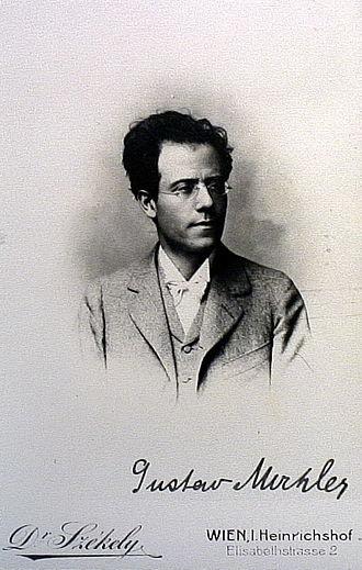 Symphony No. 3 (Mahler) - Mahler in 1898