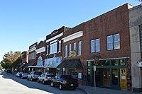 Main Street on courthouse square, Roxboro.jpg