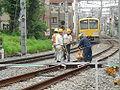 Maintenance of Seibu Ikebukuro line.jpg
