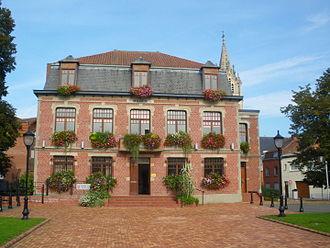 Erquinghem-Lys - Image: Mairie d'Erquinghem Lys