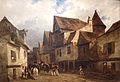Maisons d'une rue de Vitré Eugène Isabey 1803-1886 musée du Louvre.JPG