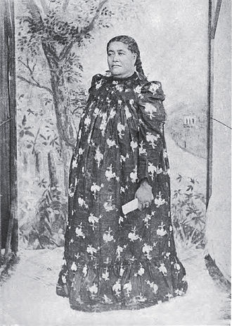 Makea Takau Ariki - Makea Takau Ariki, Auckland visit (1885)