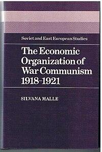 The Economic Organization of War Communism cover