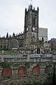 Manchester Cathedral and steps 1.jpg