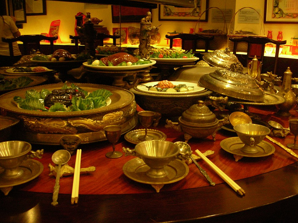 Manchu Han Imperial Feast Tao Heung Museum of Food Culture