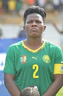 Christine Manie Cameroonian footballer