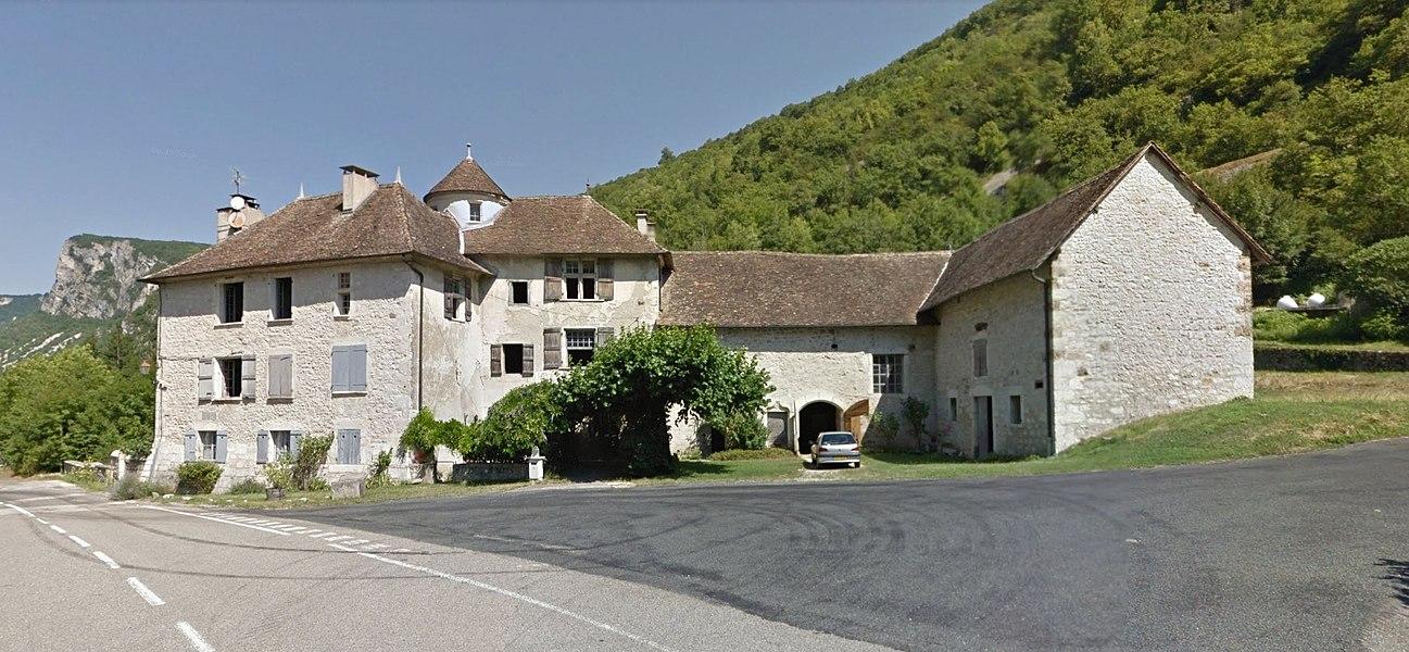 Manoir de La Forest, maison forte de Rossillon, commune du Bugey, département de l'Ain, région Auvergne Rhône Alpes, France