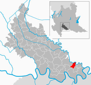 Cornovecchio - Image: Map IT Lodi Cornovecchio