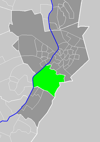 Tegelen - Image: Map Venlo NL G Tegelen