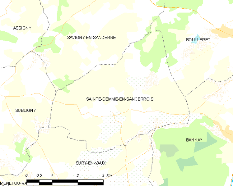 Fitxer:Map commune FR insee code 18208.png