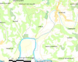 Limeuil – Mappa